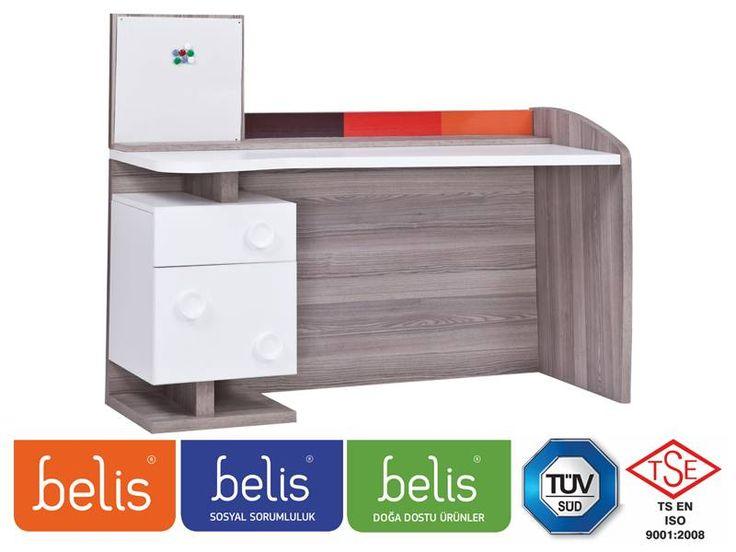 Belis Stay Çalışma Masası TR5117 | Çalışma Masası | E-Belis - Bebek Odası,Bebek Karyolası