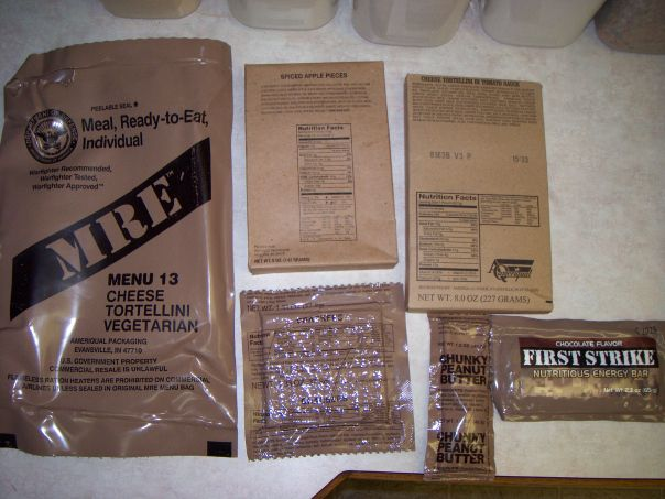 Spiced Pound Cake Mre