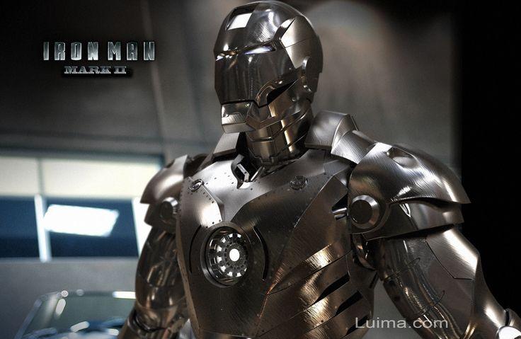 Armaduras de Tony Stark [Iron Man] [Mark1 a la Mark7] - Taringa!