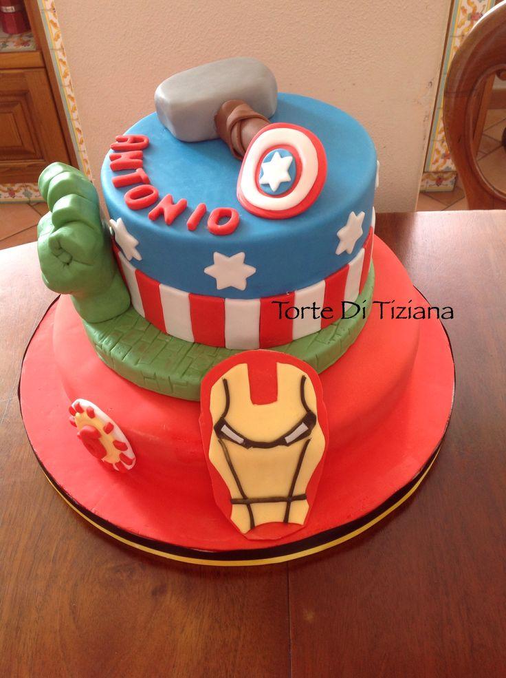 Cake capitan America & Co.