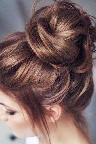 Bun Hairstyles Pic 3