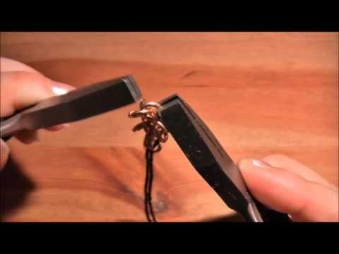 Hvordan lage bronsesmykker -flat brynjekjede.wmv - YouTube