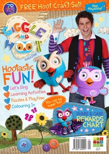 Giggle and Hoot Magazine - Issue 1. $5.95