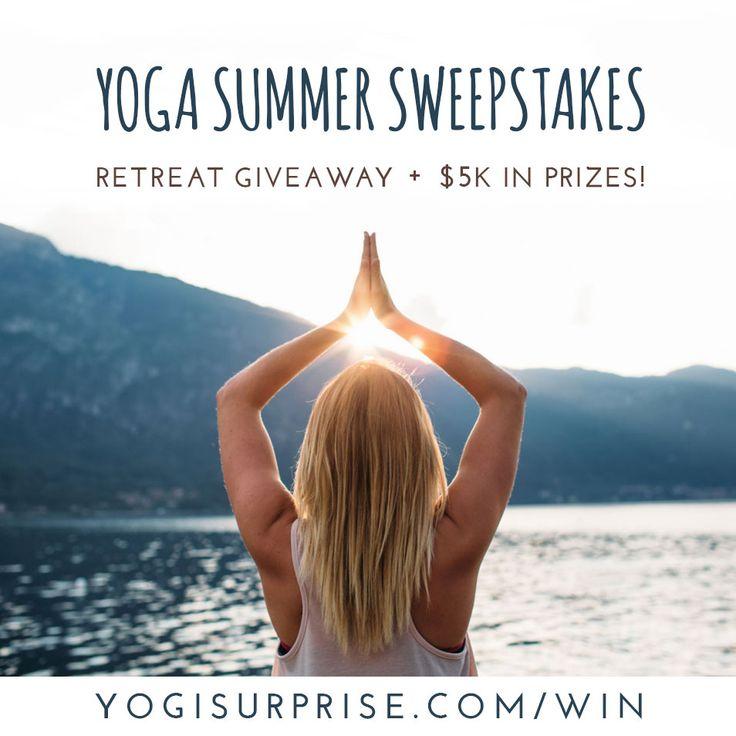 Yoga Summer Sweepstakes!