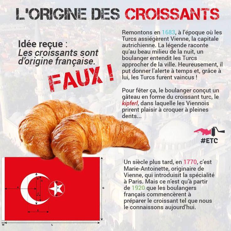 Origine des croissants
