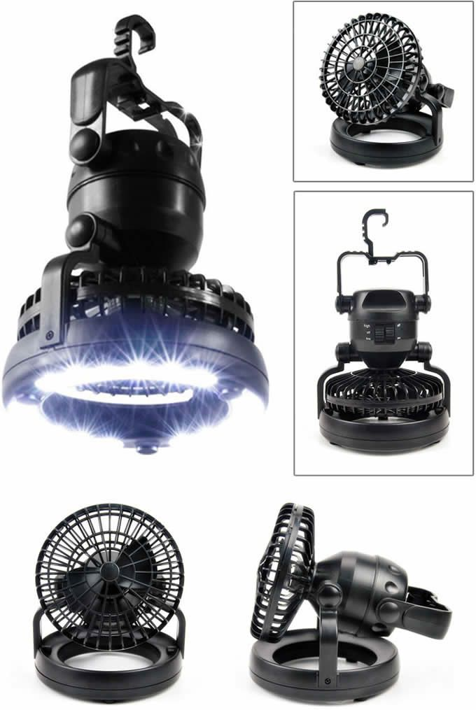 Camping Tent Light And Fan
