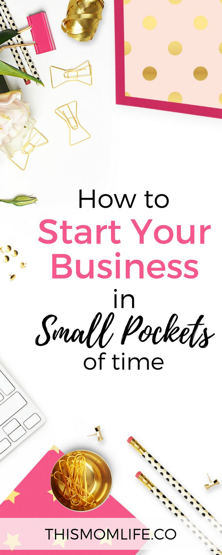How To Start Your #Business In Small Pockets Of Time // This Mom Life -- #workingmom