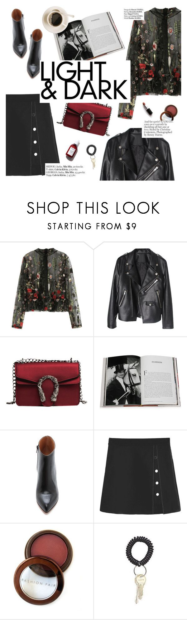"""Light&dark"" by punnky ❤ liked on Polyvore featuring Assouline Publishing, Maison Margiela, Fashion Fair and Haute Hippie"