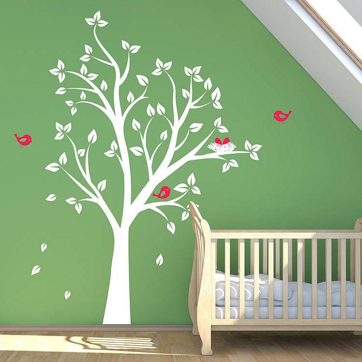 Vrolijk de kinderkamer makkelijk op met muurstickers | roomed.nl