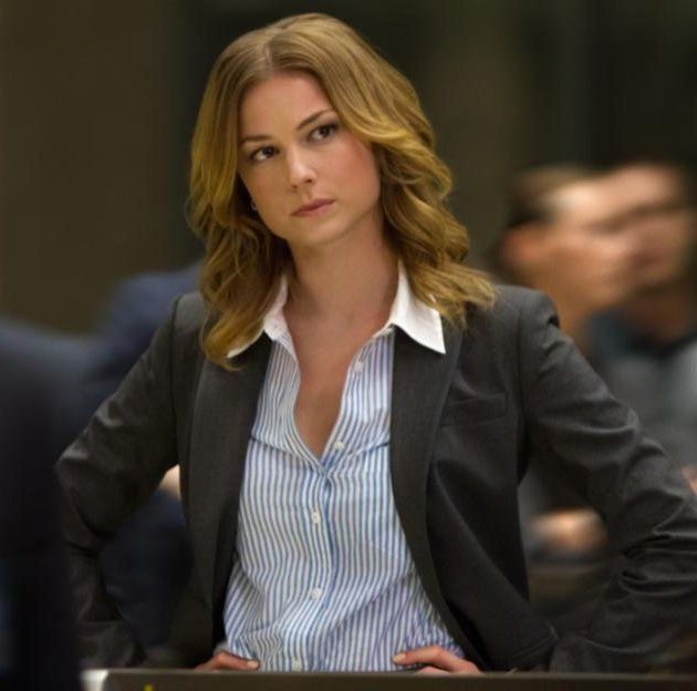 Emily VanCamp, or Kate/Agent 13, the nurse / SHIELD agent from Captain America: Winter Soldier