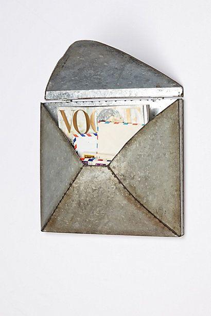 Welded Letter Holder #anthroregistry