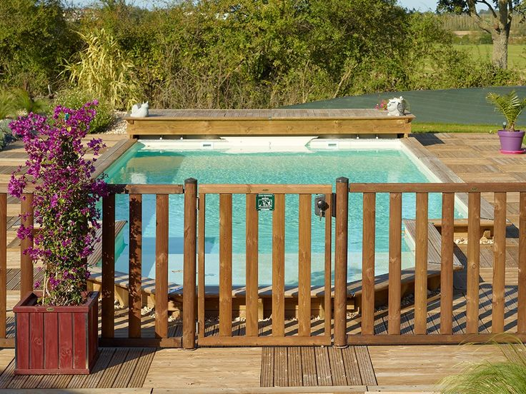 Cloture Bois De Securite Donegal Clotures Securite Piscines Barriere Piscine Piscine Bois Securite Piscine