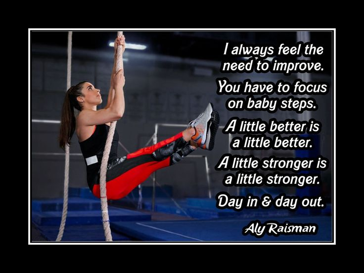 "Gymnastics Motivation Poster Aly Raisman Photo Quote Wall Art 5x7-11x14"" Always…"