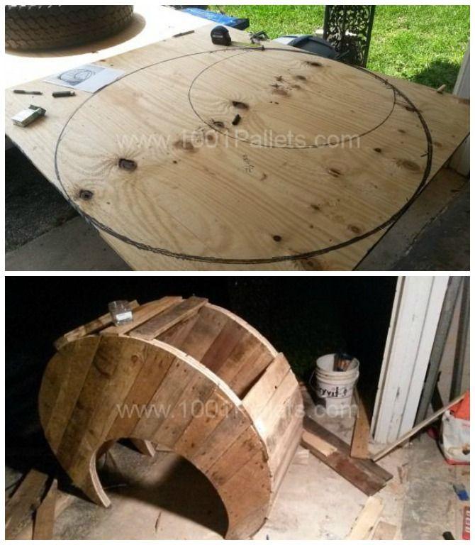 DIY Moon Cot Babybett Kinderbett [Picture Instructions]  – bb