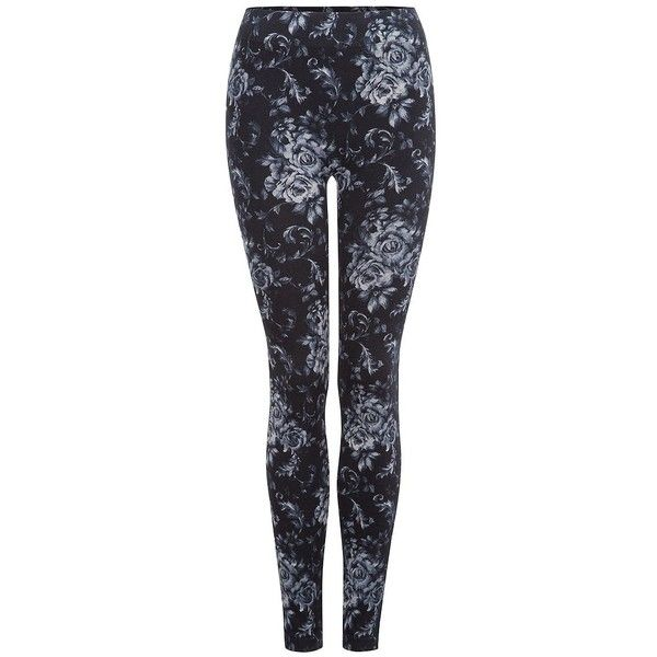 Dex Printed Leggings (1,320 PHP) ❤ liked on Polyvore featuring pants, leggings, bottoms, winter and dex