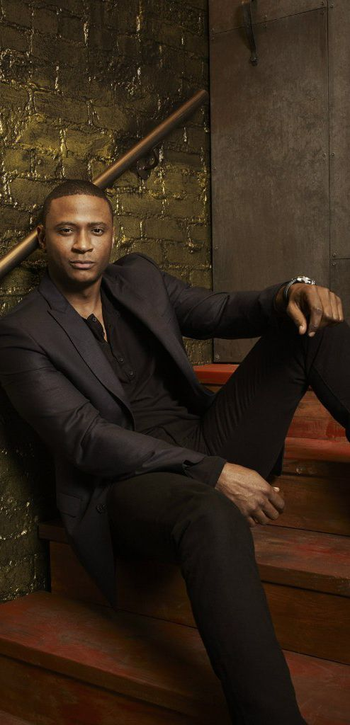 David Ramsey.  The world should just watch arrow all the time!