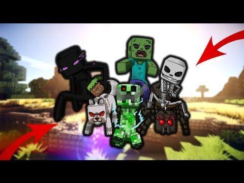 😱 Szörnyek Amiket Még Nem Láttál A Minecraftban!!! 😱