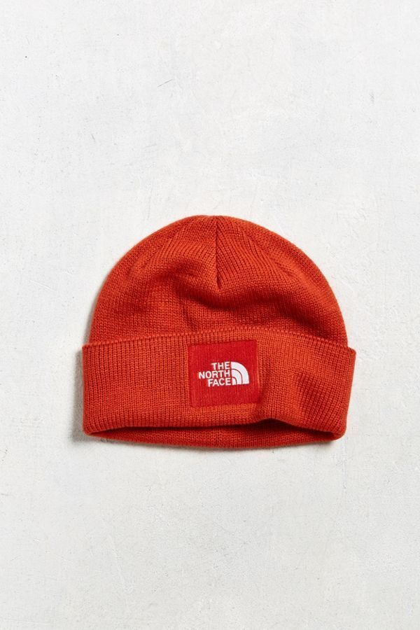 a98b5224974bb NEW THE NORTH FACE ORANGE BOX LOGO BEANIE WINTER HAT UO EXCLUSIVE COLOR  !!!!!!  TheNorthFace  Beanie