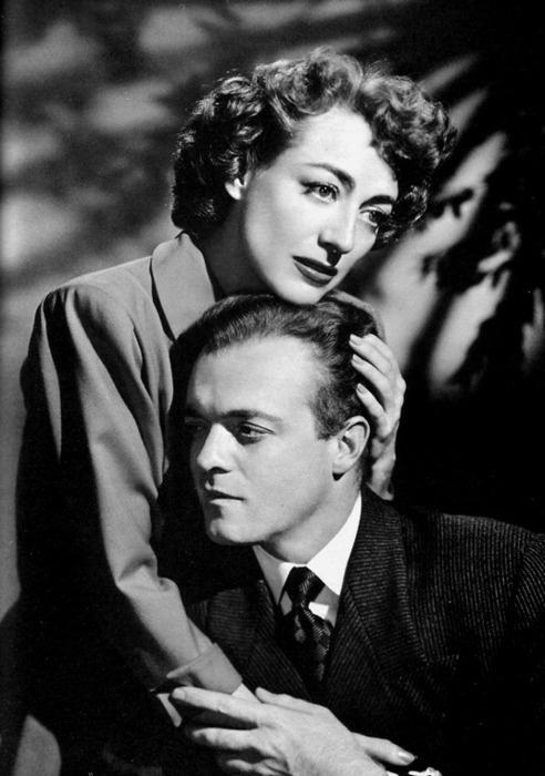 Joan Crawford and Van Heflin, Possessed (Curtis Bernhardt, 1947)