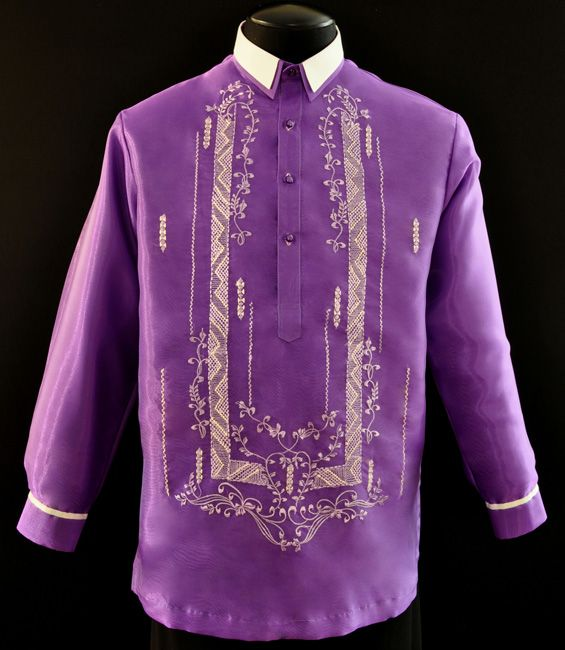 84 Best Filipino Barong Images On Pinterest Barong
