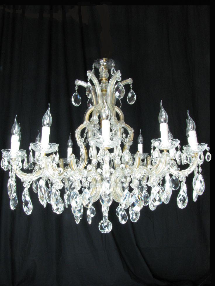lampadario cristallo boemia : Lampadario antico in cristallo di Boemia Maria Teresa, lampadario ...
