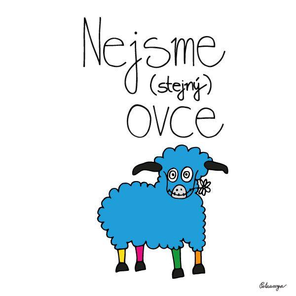 Do not behave like a sheep. Be ORIGINAL. Petruccya