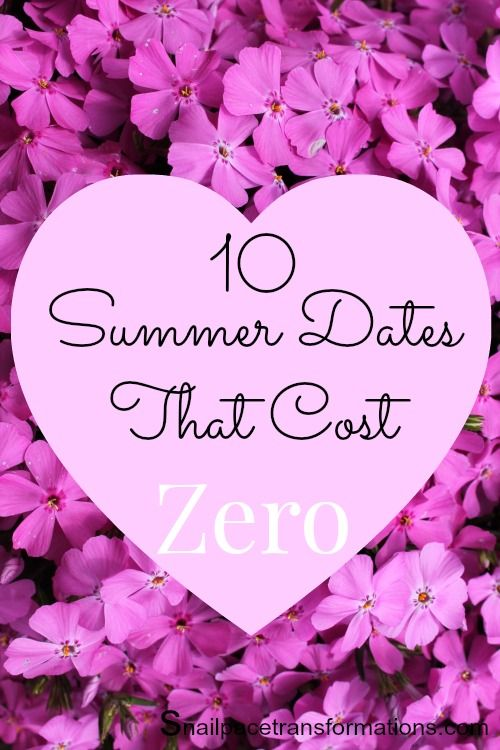 Want to date more this summer but don't have the cash? No problem here are 10 summer date ideas that cost zero.