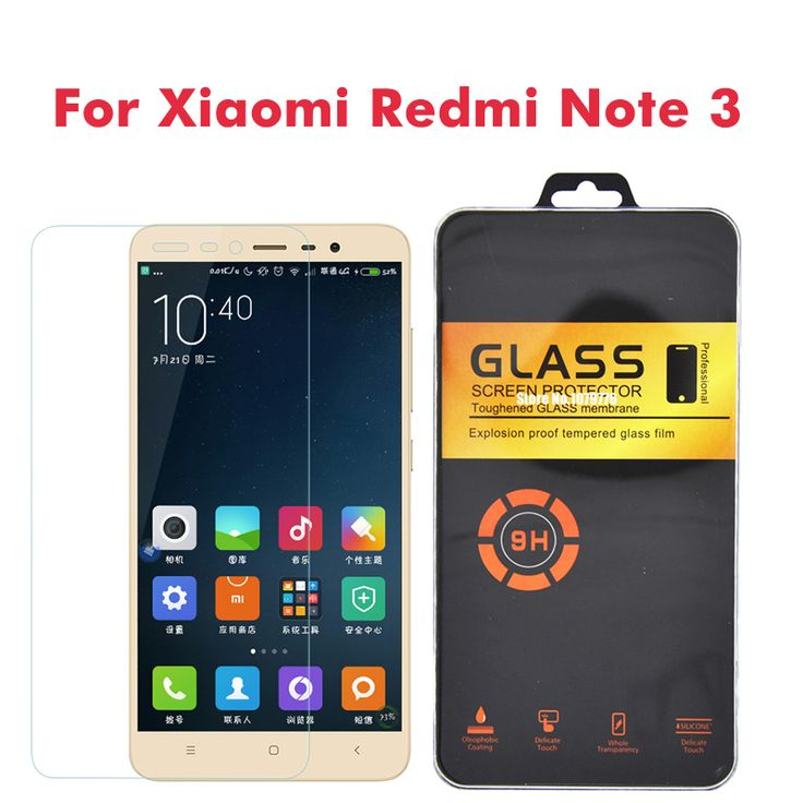 Screen Protectors Retail Package For Xiaomi Redmi Note 3 Pro Glass For Redmi 3S Glass Tempered Note 4 3S Mi3 Mi4 Mi4C Mi5 Screen Protector <3 Find similar products by clicking the image