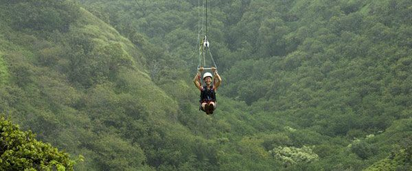 GoZip Hawaii –Oahu Zip Lines, A Great Family Activity in Hawaii!