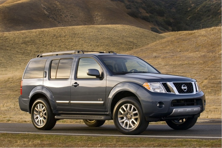 2010 Nissan Pathfinder - 7th car and what I currently drive! Love this truck! Already have 115k on it!