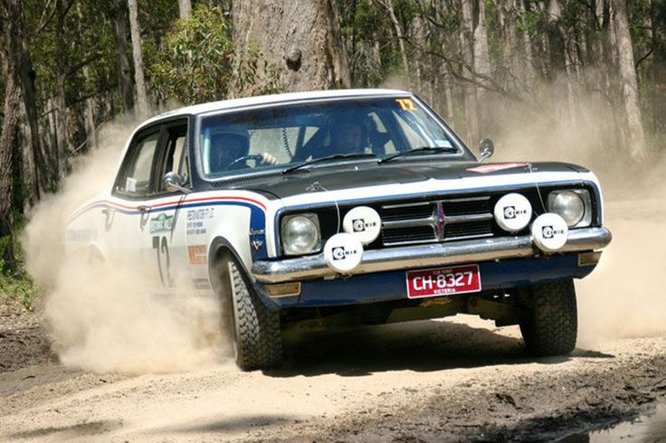 HDT HK Rally Car 1968