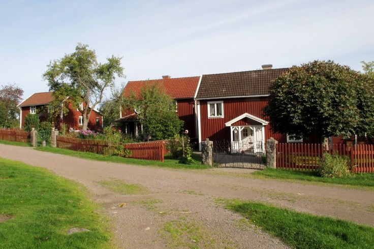 Sweden. That´s Astrid Lindgrens Bullerby with just the 3 houses - in real Sevedstorp.