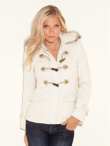 GUESS Rozi Coat: Clothing - I have a coat that looks like this :)