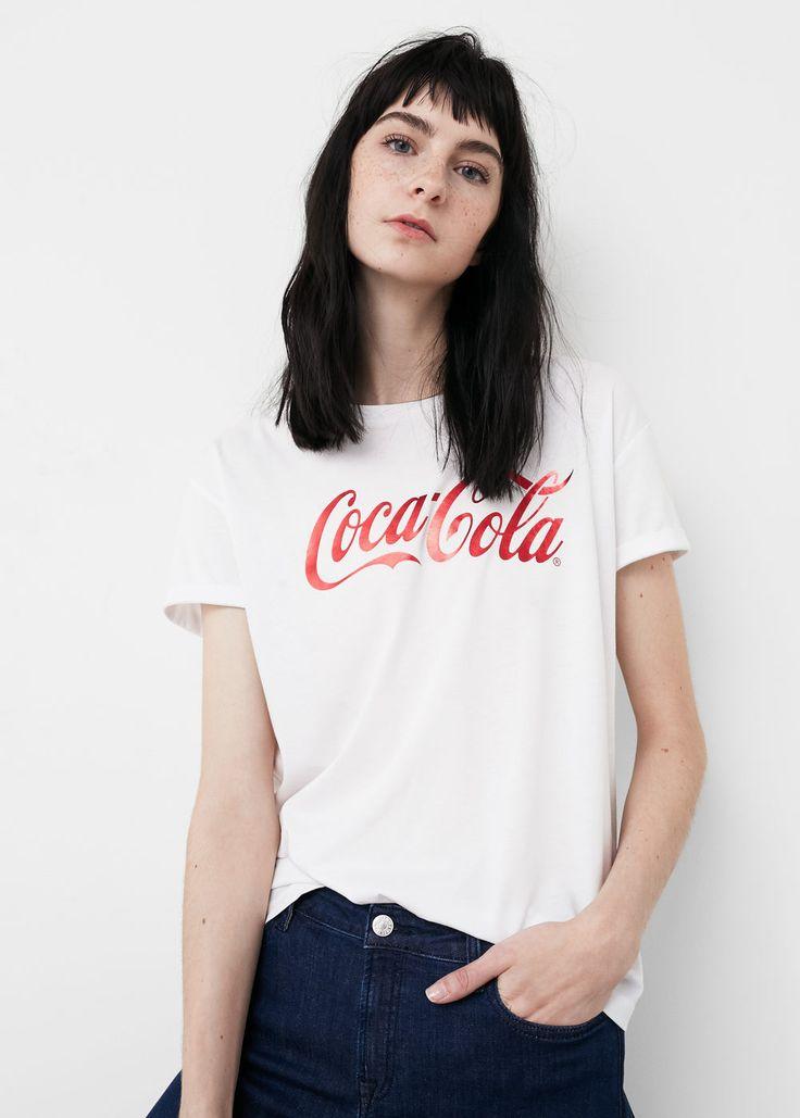 T-shirt coton modal -  Femme | MANGO France