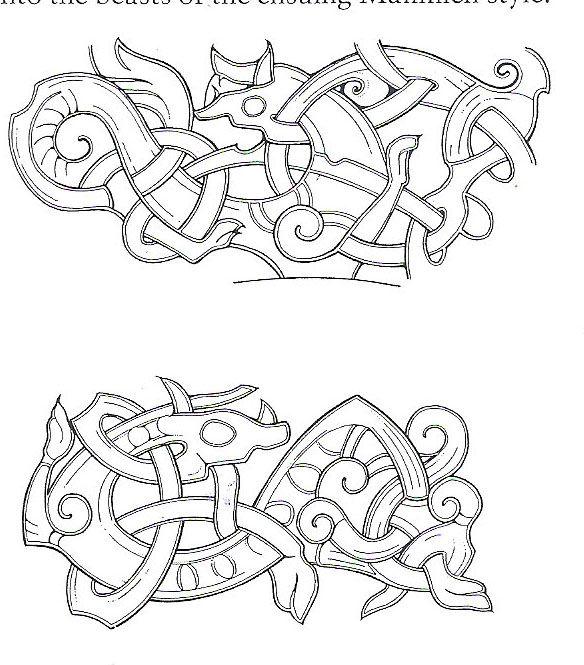 Thyra: The Vikings/Viking Art - The Jellinge Style