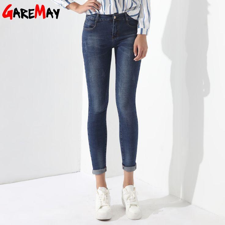 How to Discount 4 Original Price US $31.56 Skinny Jeans Female Denim Pants Women s Basic Jeans Feminino Vaqueros Mujer Ladies Jean Femme Clothing Women Spring GAREMAY 1229 like beckham #timeless_jeans