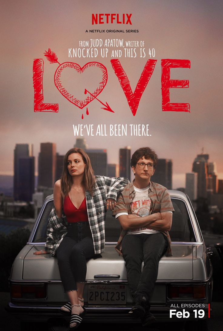 Love (Feb 2016 - ) Gillian Jacobs & Paul Rust