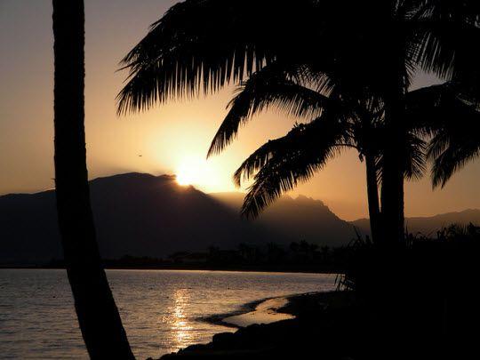 Sunrise Over Denarau