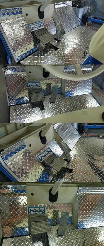 Push-Pull Golf Carts 75207: Yamaha Golf Cart G2 - G9 Diamond Plate 7 Peice Floor Kit. BUY IT NOW ONLY: $124.99
