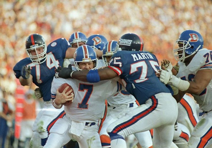 Super Bowl XXI was an game between the Denver Broncos and the New York Giants to decide the NFL Champion for the 1986 season.The Giants defeated the Broncos by the score of 39–20, winning their first ever Super Bowl and their first NFL title since 1956. The game was played on January 25, 1987 at the Rose Bowl in Pasadena, California.