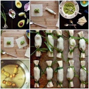 Fried Guacamole Crunchy Wonton Wraps Recipe