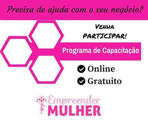 Programa de Capacitação Online e Gratuito do... | GAROTA EMPREENDE