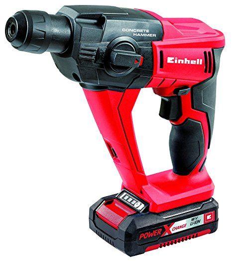 Perfect Einhell Akku Bohrhammer TE HD Li Power X Change