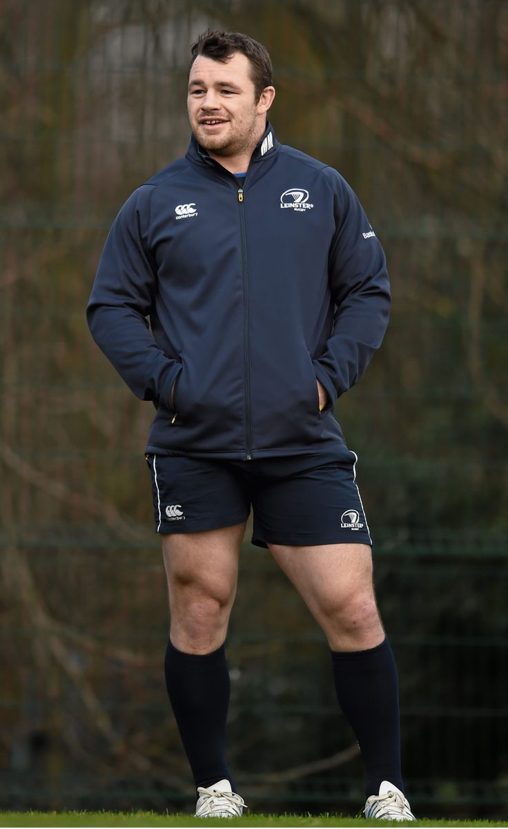 Footy Players: Cian Healy of Leinster Rugby