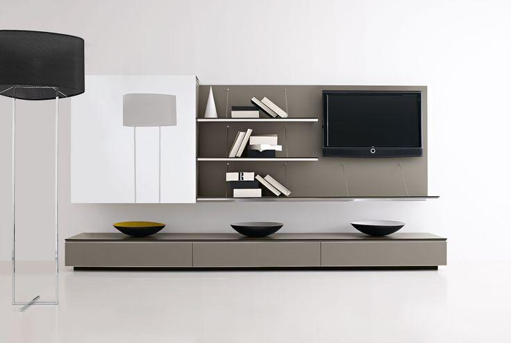 Nappali Fal System - Storage Unit: PAB - Collection: B&B Italia - Design: Studio Kairos