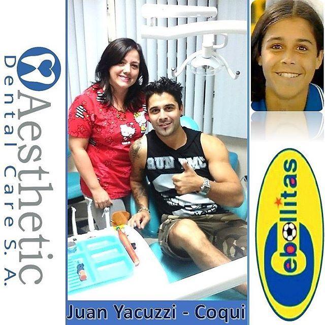 ⚽⚽ COQUI DE CEBOLLITAS⚽⚽ Nos ha visitado en Aesthetic Dental Care @JuanYacuzzi actor de Cebollitas y @CamiLunaF Gracias por su Confianza. Se realizaron su Control Dental Preventivo. Las Mejores Sonrisas en @AestheticDentalCare  Reserva tu Consulta de Diagnóstico SIN COSTO Llámanos 📍Teléfono 2681129. 📍Celular 0999225043 whatsapp.  Síguenos en nuestras redes Sociales 📍Facebook: Aesthetic Dental Care 📍Instagram: @AestheticDentalCare  En Aesthetic Dental Care Odontología de Calidad al Precio…