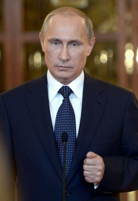Russian President.Vladimir Putin
