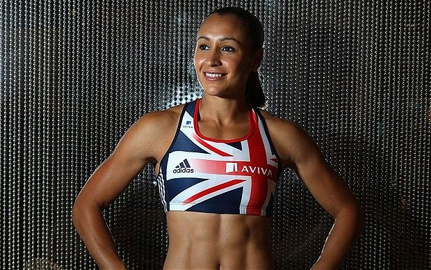 one of the Best of British athletes in the 2012 athletics the AMAZING Jessica Ennis :) Go get that gold girl :)