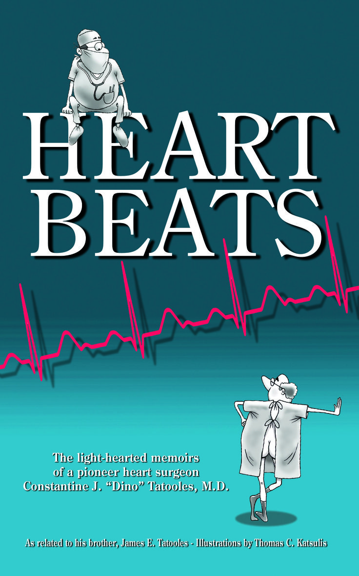 Enter to win an advance copy of HEARTBEATS by James E. Tatooles (forthcoming September) at Goodreads! Giveaway dates from August 7-September 1.  https://www.goodreads.com/giveaway/show/103297-heartbeats-the-light-hearted-memoirs-of-a-pioneer-heart-surgeon-constan