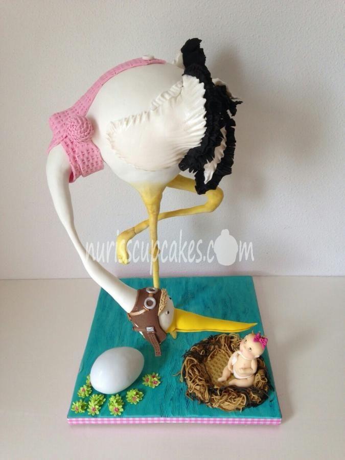 Stork+Cake+-+Cake+by+Nurisscupcakes